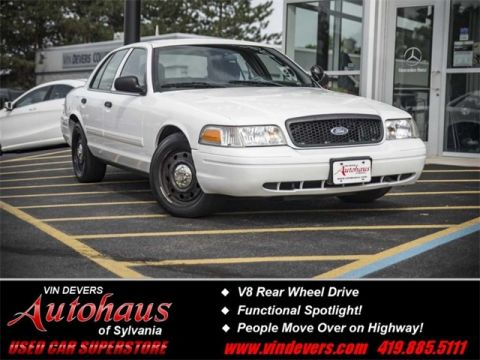Pre-Owned 2009 Ford Crown Victoria Police Interceptor