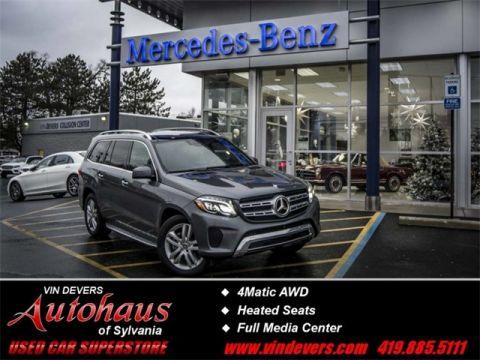 Certified Pre-Owned 2017 Mercedes-Benz GLS GLS  450 AWD 4MATIC®