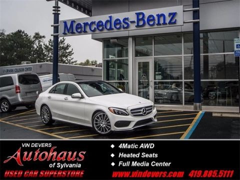 Certified Pre-Owned 2017 Mercedes-Benz C-Class C  300 AWD 4MATIC