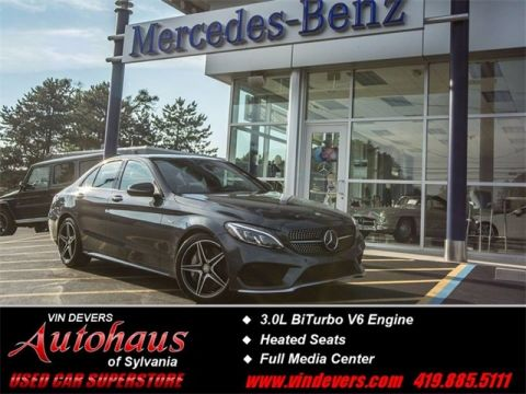 Certified Pre-Owned 2016 Mercedes-Benz C-Class C 450 AMG® AWD 4MATIC