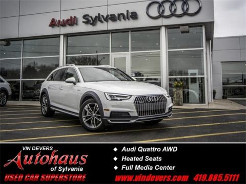 Certified Pre-Owned 2017 Audi A4 allroad 2.0T Premium