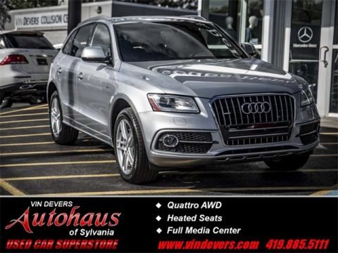 Certified Pre-Owned 2016 Audi Q5 3.0T Premium Plus