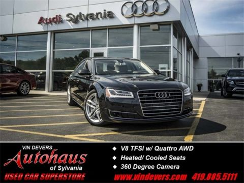 Certified Pre-Owned 2015 Audi A8 L 4.0T