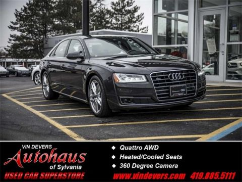 Certified Pre-Owned 2015 Audi A8 4.0T