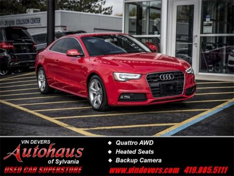 Certified Pre-Owned 2015 Audi A5 2.0T Premium Plus