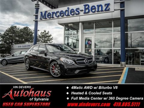 Certified Used Mercedes-Benz E-Class E 63 AMG® S