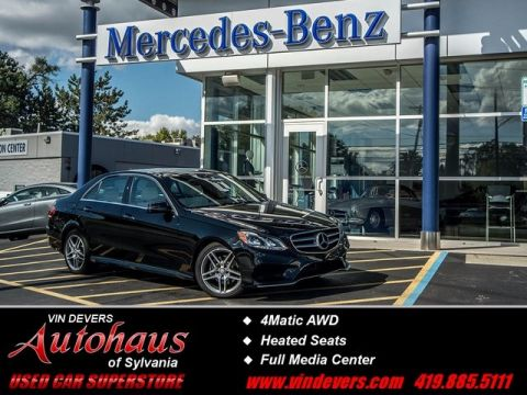 Certified Pre-Owned 2016 Mercedes-Benz E-Class E 350 AWD 4MATIC