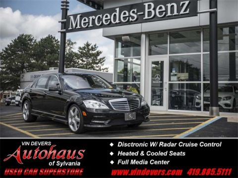 Certified Pre-Owned 2013 Mercedes-Benz S-Class S  550