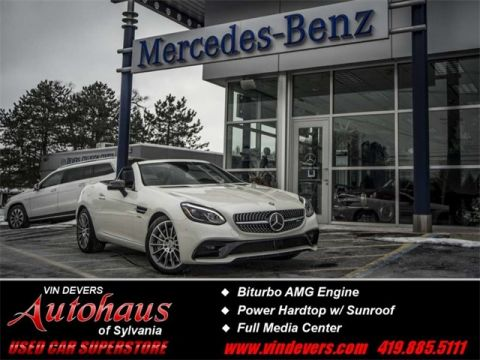 Certified Pre-Owned 2017 Mercedes-Benz SLC SLC  43 AMG®