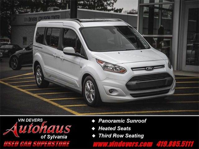 62d2388d89 Pre-Owned 2016 Ford Transit Connect Titanium 4D Wagon in Sylvania ...