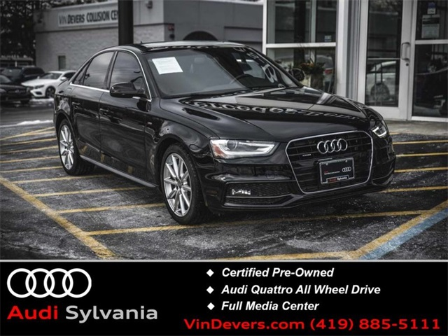 Certified Pre-Owned 2015 Audi A4 2.0T Premium Plus