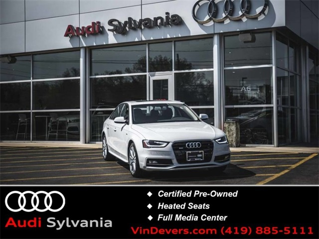 Audi A4 2.0 T >> Certified Pre Owned 2015 Audi A4 2 0t Premium Plus Quattro 4d Sedan