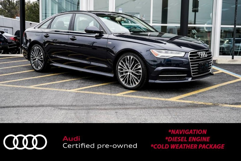 Certified Pre-Owned 2016 Audi A6 3.0L TDI Premium Plus
