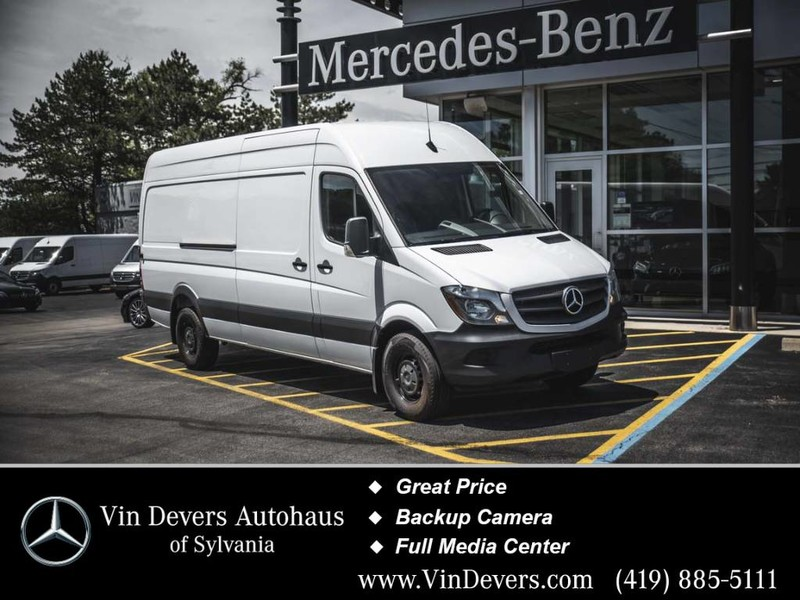 Pre-Owned 2017 Mercedes-Benz Sprinter Cargo Van Worker