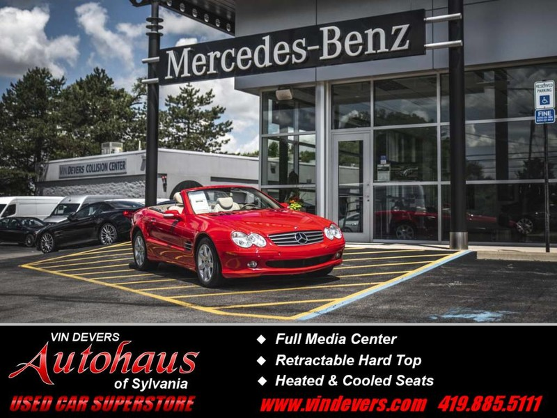 Pre-Owned 2003 Mercedes-Benz SL-Class