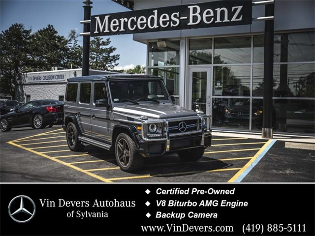 Certified Pre-Owned 2017 Mercedes-Benz G-Class G 63 AMG®