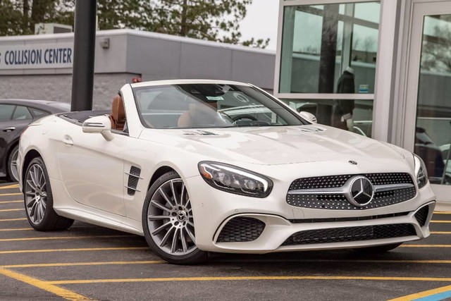 Pre-Owned 2019 Mercedes-Benz SL SL 450
