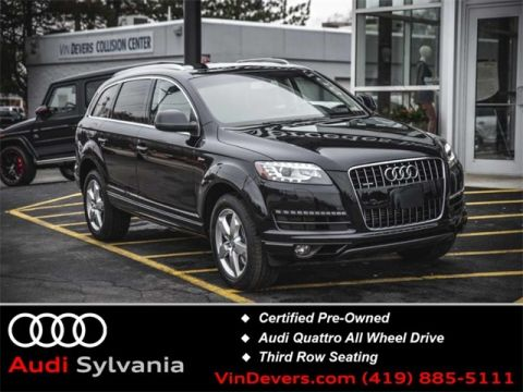Certified Pre-Owned 2015 Audi Q7 3.0T Premium Plus