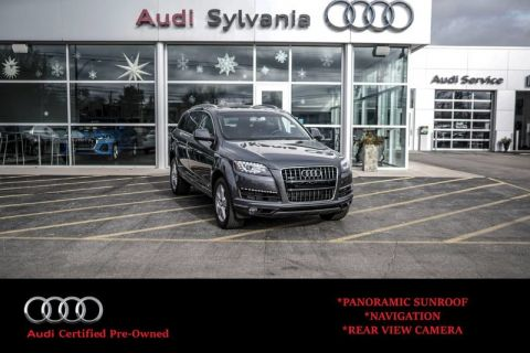 Certified Pre-Owned 2015 Audi Q7 3.0L TDI Premium Plus