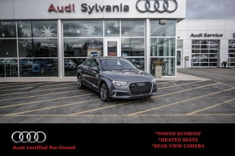 Certified Pre-Owned 2019 Audi A3 Sedan Premium