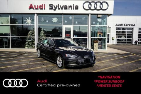 Certified Pre-Owned 2019 Audi A5 Sportback Premium Plus
