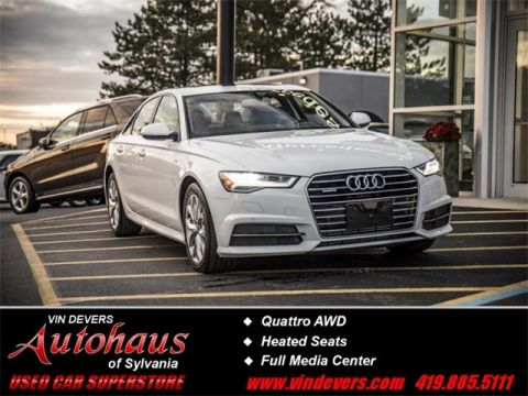 Certified Pre-Owned 2018 Audi A6 2.0T Premium Plus