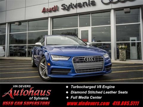 Certified Pre-Owned 2016 Audi S7 4.0T