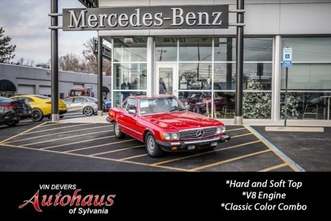 Pre-Owned 1985 Mercedes-Benz 380 Series 380SL