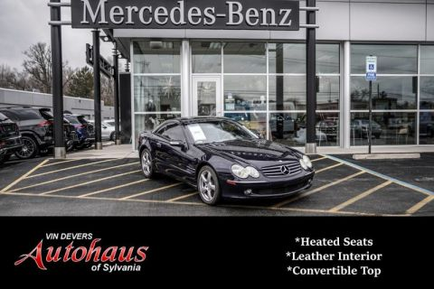Pre-Owned 2004 Mercedes-Benz SL-Class